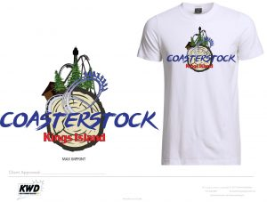 Coasterstock 2017 Proposed T-shirt for Kings Island Amusement Park