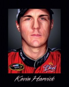 Kevin Harvick Digital Painting