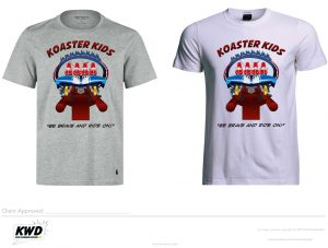 Koaster Kids 2016 Limited Edition T-Shirt Design